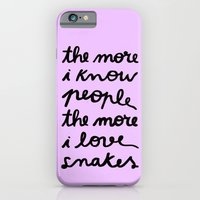 ALL MY FRIENDS ARE SNAKES iPhone 6 Slim Case