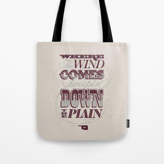 Sweepin' Down The Plain Tote Bag