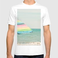 Sombrilla Mens Fitted Tee White SMALL