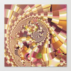 Fractal Quake Canvas Print