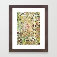 Deer Spirit Framed Art Print