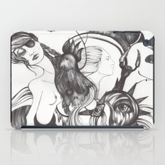 Retrato de Sirena iPad Case
