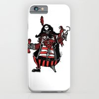 iPhone & iPod Case featuring The Captain Pirate inspired by Captain Pugwash by Joe Pugilist Design
