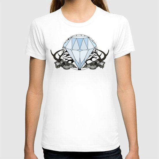 Diamond and skulls T-shirt
