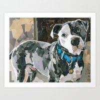 Rocco The Great Art Print