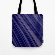 Blue Lines Soft Pattern Tote Bag