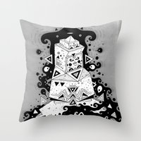 inner spiritzz Throw Pillow