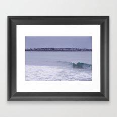 Maine Surf 1 Framed Art Print