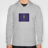 indiana state flag united states of america country Hoody