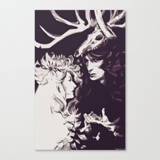 Old Forest Gods - NBC Hannibal Bedelia Canvas Print
