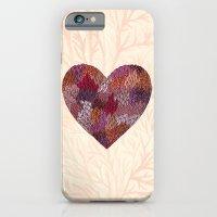 Pink Heart iPhone 6 Slim Case