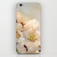 iPhone & iPod Skin featuring Beautiful Blossoms On Wh… by ARTbyJWP