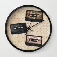 Cassettes Lana Lorde Marina Wall Clock