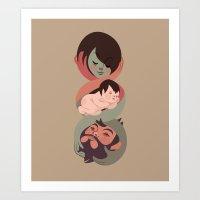 Love - Family Art Print