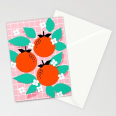 Bodacious - modern abstract minimal 1980s throwback memphis design trendy palm springs art Stationery Cards