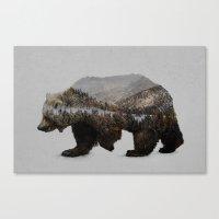 The Kodiak Brown Bear Canvas Print