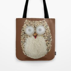 Specs, The Grainy Owl! Tote Bag