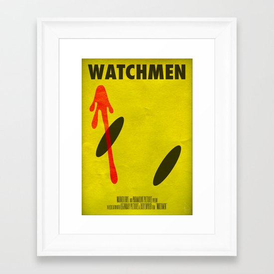 Watchmen - The Comedian Framed Art Print