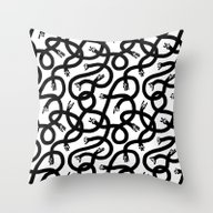 Hands Hands Hands Throw Pillow