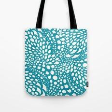 Octopus Dots Teal Tote Bag