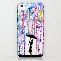 iPhone 5c Cases featuring Deluge by Marc Allante