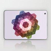 Patchwork Tiles IV (Rainbow flowers) Laptop & iPad Skin
