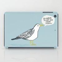Greedy Gulls iPad Case