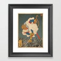Pepperoni 2/3 Framed Art Print