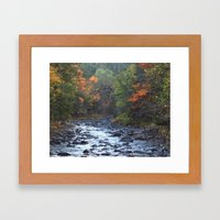 Perfect Fall Day Framed Art Print