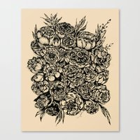 Wedding Flowers  Canvas Print