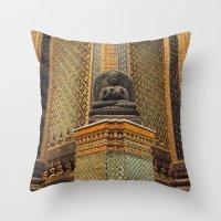 Buddha - Bangkok - Thailand Throw Pillow