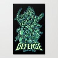 Defense Team Canvas Print