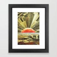 Ci vediamo a fine estate Framed Art Print