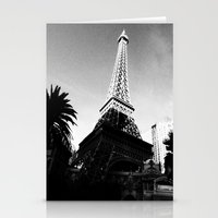 eiffel Stationery Cards featuring Eiffel by Melynda Nichole