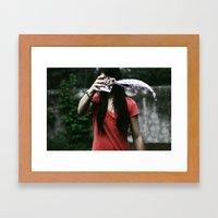 I can  Framed Art Print