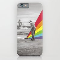 iPhone Cases featuring Mr. Floyd by Blaz Rojs