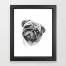The Pug G123 Framed Art Print
