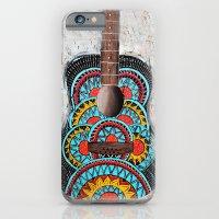 Retro Guitar iPhone 6 Slim Case