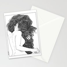 asc 590 - Le peigne (Combing her hair) Stationery Cards
