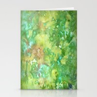 Greenwoods Abstract Stationery Cards