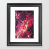 The Space Roses - for iphone Framed Art Print