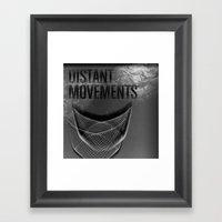 Distant Movements (Forgotten Broadcast) Framed Art Print