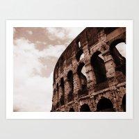 The Colosseum Art Print