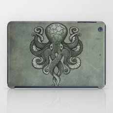Grey Dectapus iPad Case