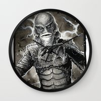 Creature From The Black … Wall Clock