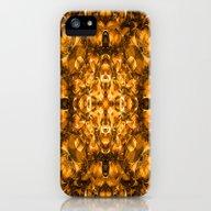 Golden Kaleidoscope iPhone (5, 5s) Slim Case
