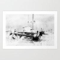 Pirates Of The Baltic-se… Art Print