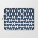 Diamond Hearts Repeat Navy Laptop Sleeve