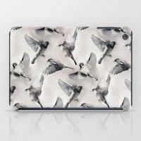 Sparrow Flight - Monochr… iPad Case
