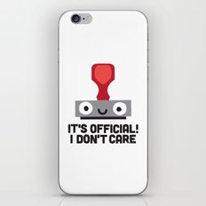 Nopetarized iPhone & iPod Skin